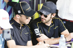 Andre Lotterer, Techeetah, Jean-Eric Vergne, Techeetah, at the autograph session