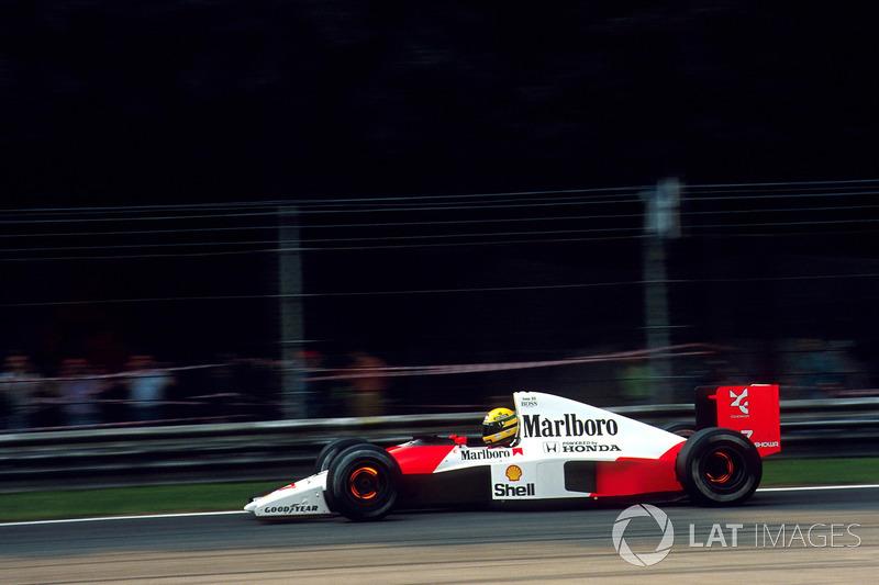 Ayrton Senna - McLaren MP4 / 6-Honda - GP de Estados Unidos de 1991