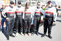 #1 Hofor-Racing Mercedes-AMG GT3: Michael Kroll, Chantal Kroll, Roland Eggimann, Kenneth Heyer, Christiaan Frankenhout