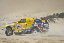 Opel Dakar Team, Szalay Balázs, Bunkoczi László