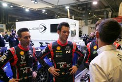 WRC drivers including Thierry Neuville, Andreas Mikkelsen and Nicolas Gilsoul