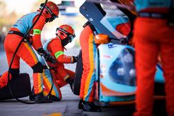 #1 WIN Motorsport mechanics at work