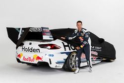 Jamie Whincup with the 2018 livery