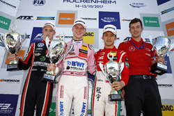Podium: Race winner Maximilian Günther, Prema Powerteam Dallara F317 - Mercedes-Benz, second place J