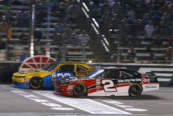 Austin Dillon, Richard Childress Racing Chevrolet and Brandon Jones, Richard Childress Racing Chevro