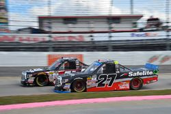 Harrison Burton, Kyle Busch Motorsports Toyota, Ben Rhodes, ThorSport Racing Toyota