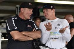 Gray Gaulding, BK Racing, Toyota Camry and Rick Bourgeois