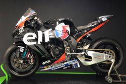 La livrée Elf de Leon Haslam avec le Kawasaki Puccetti Racing Team