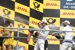 Podium: Lucas Auer, Mercedes-AMG Team HWA, Timo Glock, BMW Team RMG