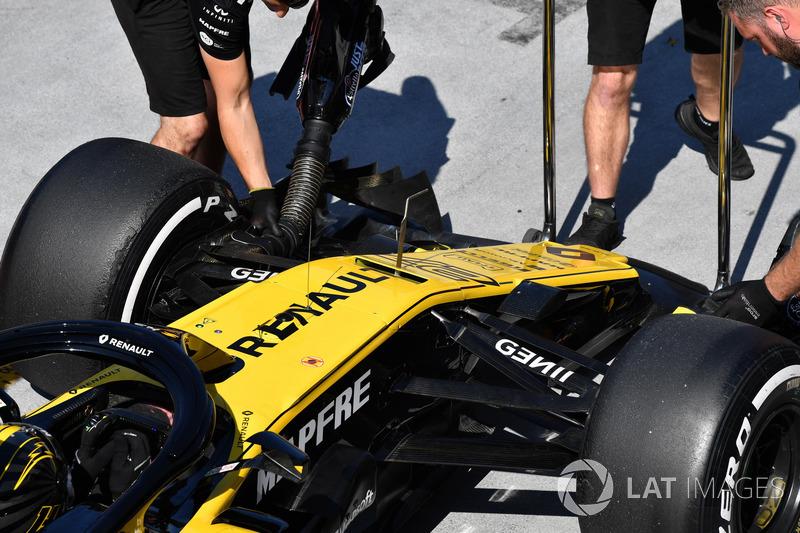 Nico Hulkenberg, Renault Sport F1 Team R.S. 18 burun