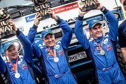 Winners #103 X-Raid Team Mini: Yazeed Al-Rajhi, Timo Gottschalk