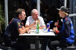 Dr Helmut Marko, Red Bull Motorsport y Brendon Hartley, Scuderia Toro Rosso