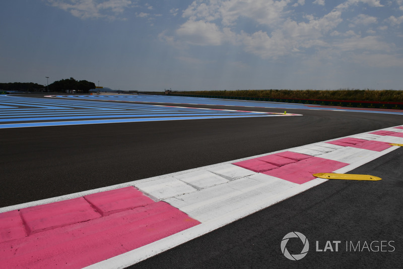 Vue de la piste du Paul Ricard