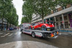 Автомобиль Ferrari 488 GTE Evo (№52) команды AF Corse