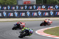 Marc Marquez, Repsol Honda Team, Andrea Dovizioso, Ducati Team, Valentino Rossi, Yamaha Factory Racing
