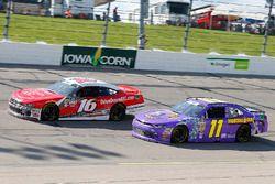 Ryan Reed, Roush Fenway Racing, Ford Mustang Drive Down A1C Lilly Diabetes and Ryan Truex, Kaulig Racing, Chevrolet Camaro Phantom Fireworks
