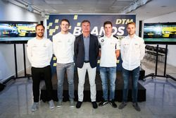 DTM drivers line-up with David Coulthard