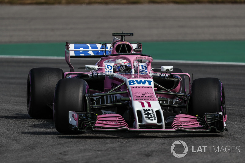 11. Sergio Perez, Force India VJM11