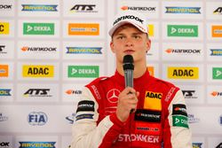 Press conference, Ralf Aron, PREMA Theodore Racing Dallara F317 - Mercedes-Benz
