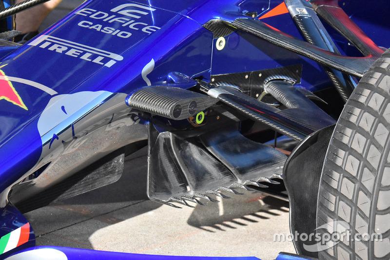 Detalhe do Scuderia Toro Rosso STR13