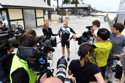 Valtteri Bottas, Mercedes-AMG F1 parle aux médias
