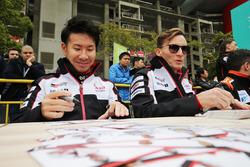 Mike Conway, Kamui Kobayashi, Toyota Gazoo Racing