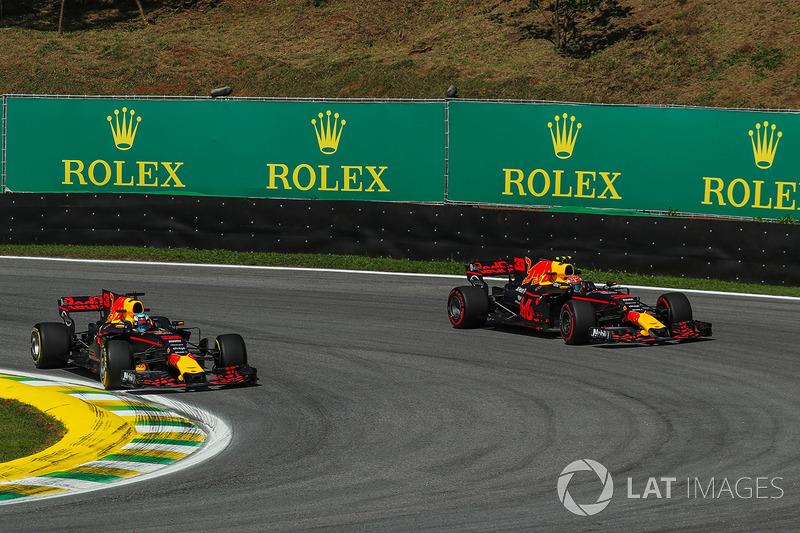 2017 - Red Bull, Daniel Ricciardo e Max Verstappen