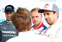 Nelson Piquet Jr., Jaguar Racing, Felix Rosenqvist, Mahindra Racing, Neel Jani, Dragon Racing , Sam