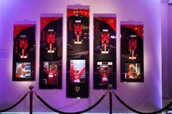 Une exposition Amalgam célébrant la carrière de Michael Schumacher chez Ferrari