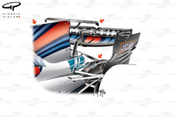 Double T-wing, Williams FW40