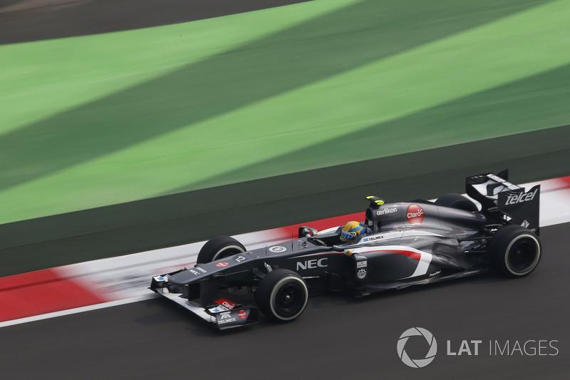 2013: Sauber-Ferrari C32 (одно четвертое место, 7-е место в КК)