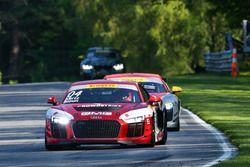 #04 GMG Racing Audi R8 LMS GT4: George Kurtz, Colin Braun