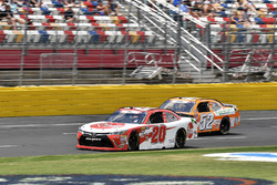Christopher Bell, Joe Gibbs Racing, Toyota Camry Rheem and David Starr, Means Motorsports, Chevrolet Camaro Extreme Kleener/Whataburger/
