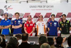 Andrea Iannone, Team Suzuki MotoGP, Valentino Rossi, Yamaha Factory Racing, Andrea Dovizioso, Ducati