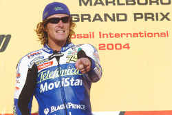 Ganador de la carrera Sete Gibernau