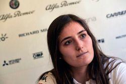 Tatiana Calderón, Alfa Romeo Sauber F1, piloto de pruebas
