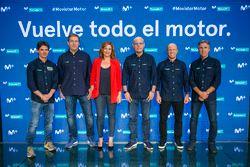 Equipo de MotoGP de Movistar +