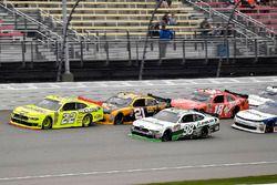 Paul Menard, Team Penske, Ford Mustang Menards/Richmond, Daniel Hemric, Richard Childress Racing, Ch