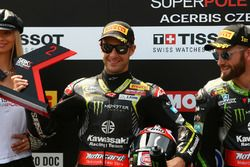 Jonathan Rea, Kawasaki Racing secondo in super pole