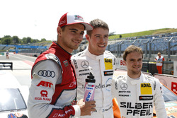 Top3 after qualifying: Pole position for Paul Di Resta, Mercedes-AMG Team HWA, Nico Müller, Audi Spo