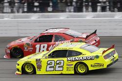Paul Menard, Team Penske, Ford Mustang Menards/Richmond Kyle Busch, Joe Gibbs Racing, Toyota Camry M