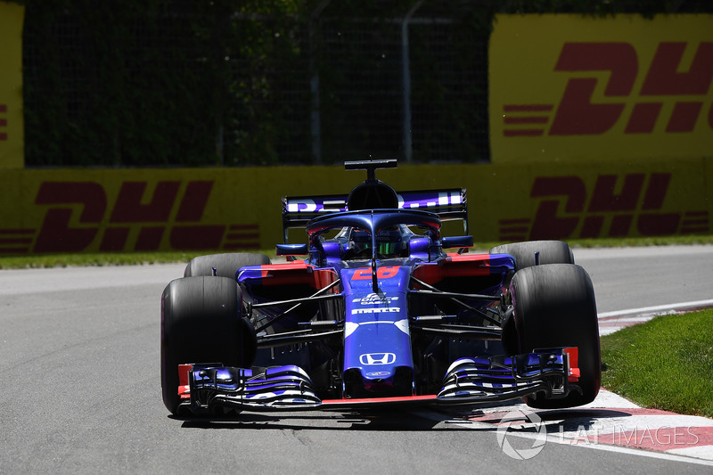 Ausfall: Brendon Hartley, Scuderia Toro Rosso STR13