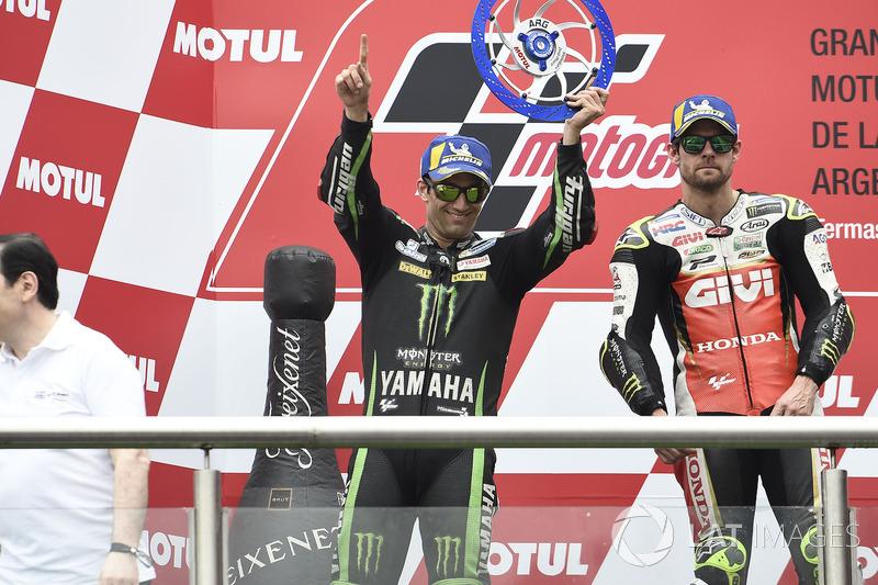 Second place Johann Zarco, Monster Yamaha Tech 3