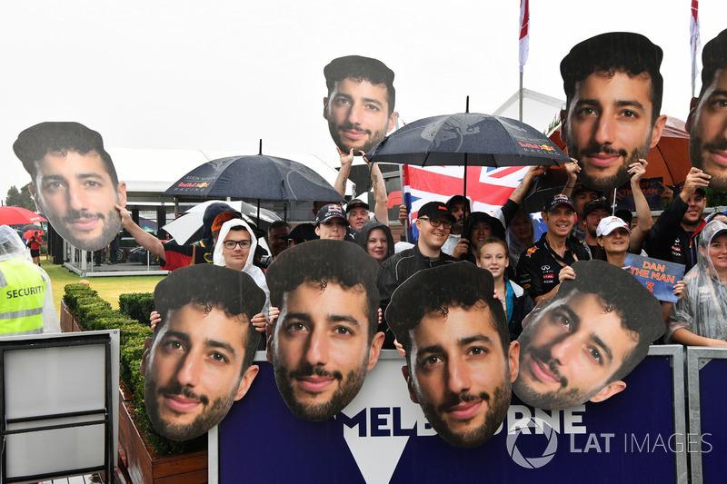 Уболівальники Red Bull Racing
