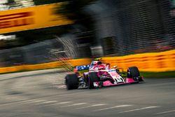 Esteban Ocon, Force India VJM11 sparks