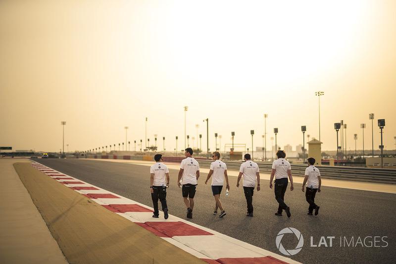 Marcus Ericsson, Sauber berjalan di trek