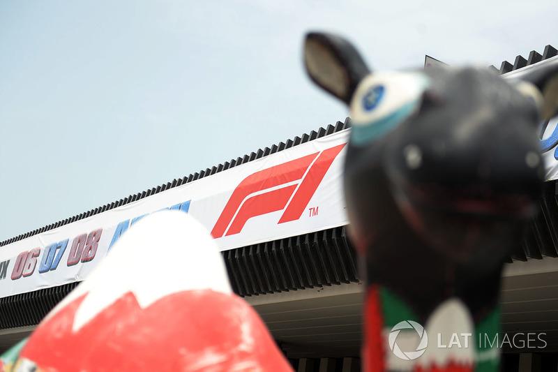 Cartel del GP de Bahrein