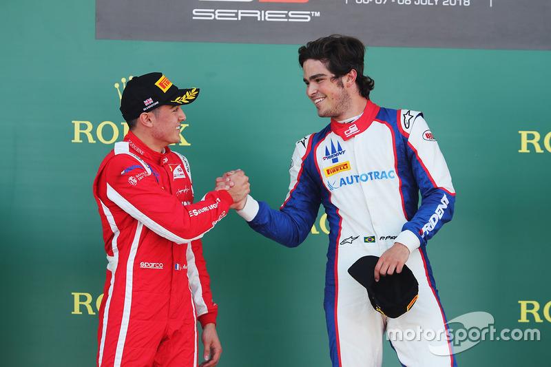 Piquet et Alesi se sont serré la main sur le podium...