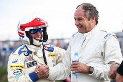 Harald Grohs, BMW 3.0 CSL et Gerhard Berger, Porsche 935