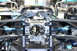 Mercedes AMG F1 W09 inside chassis
